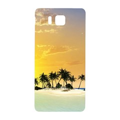 Beautiful Island In The Sunset Samsung Galaxy Alpha Hardshell Back Case