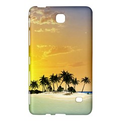 Beautiful Island In The Sunset Samsung Galaxy Tab 4 (7 ) Hardshell Case