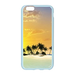 Beautiful Island In The Sunset Apple Seamless iPhone 6 Case (Color)