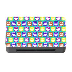Colorful Whimsical Owl Pattern Memory Card Reader with CF