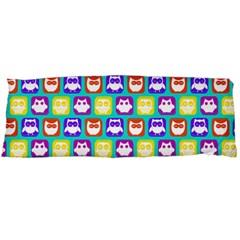 Colorful Whimsical Owl Pattern Body Pillow Cases (Dakimakura)