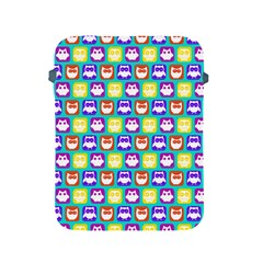Colorful Whimsical Owl Pattern Apple iPad 2/3/4 Protective Soft Cases