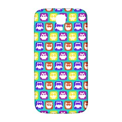 Colorful Whimsical Owl Pattern Samsung Galaxy S4 I9500/I9505  Hardshell Back Case
