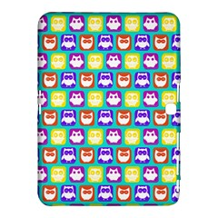 Colorful Whimsical Owl Pattern Samsung Galaxy Tab 4 (10 1 ) Hardshell Case