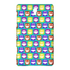 Colorful Whimsical Owl Pattern Samsung Galaxy Tab S (8.4 ) Hardshell Case