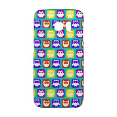 Colorful Whimsical Owl Pattern Galaxy S6 Edge