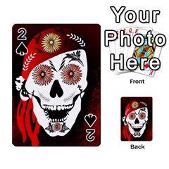 Funny Happy Skull Playing Cards 54 Designs