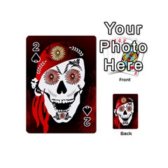 Funny Happy Skull Playing Cards 54 (Mini)