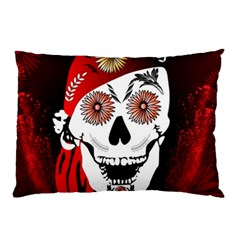 Funny Happy Skull Pillow Cases (Two Sides)