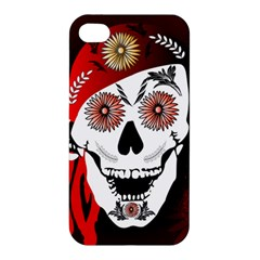 Funny Happy Skull Apple iPhone 4/4S Hardshell Case