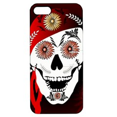 Funny Happy Skull Apple iPhone 5 Hardshell Case with Stand