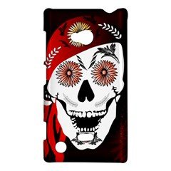 Funny Happy Skull Nokia Lumia 720