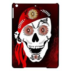 Funny Happy Skull iPad Air Hardshell Cases