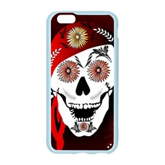 Funny Happy Skull Apple Seamless iPhone 6 Case (Color)