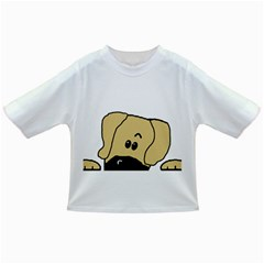 Peeping Fawn Great Dane With Undocked Ears Infant/Toddler T-Shirts