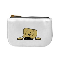 Peeping Fawn Great Dane With Undocked Ears Mini Coin Purses