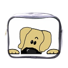 Peeping Fawn Great Dane With Undocked Ears Mini Toiletries Bags