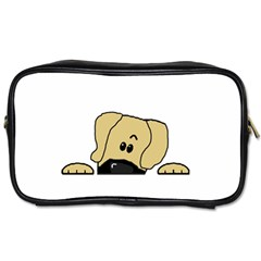 Peeping Fawn Great Dane With Undocked Ears Toiletries Bags