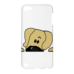 Peeping Fawn Great Dane With Undocked Ears Apple iPod Touch 5 Hardshell Case