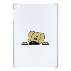 Peeping Fawn Great Dane With Undocked Ears Apple iPad Mini Hardshell Case
