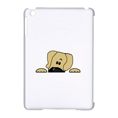 Peeping Fawn Great Dane With Undocked Ears Apple iPad Mini Hardshell Case (Compatible with Smart Cover)