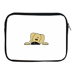 Peeping Fawn Great Dane With Undocked Ears Apple iPad 2/3/4 Zipper Cases