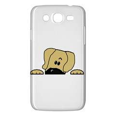 Peeping Fawn Great Dane With Undocked Ears Samsung Galaxy Mega 5.8 I9152 Hardshell Case