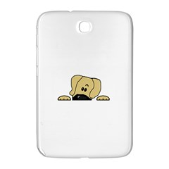 Peeping Fawn Great Dane With Undocked Ears Samsung Galaxy Note 8.0 N5100 Hardshell Case