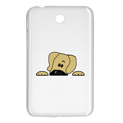 Peeping Fawn Great Dane With Undocked Ears Samsung Galaxy Tab 3 (7 ) P3200 Hardshell Case
