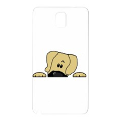 Peeping Fawn Great Dane With Undocked Ears Samsung Galaxy Note 3 N9005 Hardshell Back Case