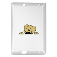 Peeping Fawn Great Dane With Undocked Ears Kindle Fire HD (2013) Hardshell Case