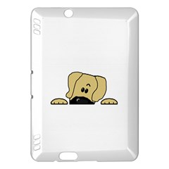 Peeping Fawn Great Dane With Undocked Ears Kindle Fire HDX Hardshell Case
