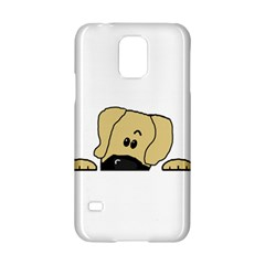 Peeping Fawn Great Dane With Undocked Ears Samsung Galaxy S5 Hardshell Case