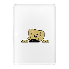 Peeping Fawn Great Dane With Undocked Ears Samsung Galaxy Tab Pro 12.2 Hardshell Case