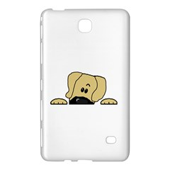 Peeping Fawn Great Dane With Undocked Ears Samsung Galaxy Tab 4 (8 ) Hardshell Case