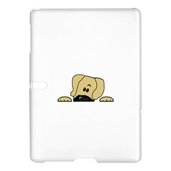 Peeping Fawn Great Dane With Undocked Ears Samsung Galaxy Tab S (10.5 ) Hardshell Case