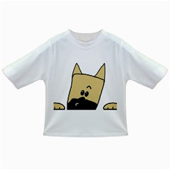 Peeping Fawn Great Dane With Docked Ears Infant/Toddler T-Shirts