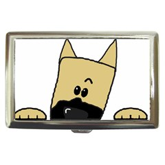 Peeping Fawn Great Dane With Docked Ears Cigarette Money Cases