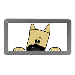 Peeping Fawn Great Dane With Docked Ears Memory Card Reader (Mini)