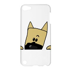 Peeping Fawn Great Dane With Docked Ears Apple iPod Touch 5 Hardshell Case