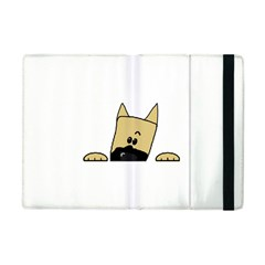 Peeping Fawn Great Dane With Docked Ears Apple iPad Mini Flip Case