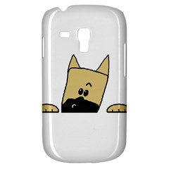 Peeping Fawn Great Dane With Docked Ears Samsung Galaxy S3 MINI I8190 Hardshell Case