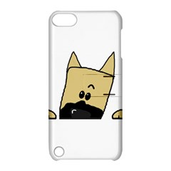 Peeping Fawn Great Dane With Docked Ears Apple iPod Touch 5 Hardshell Case with Stand