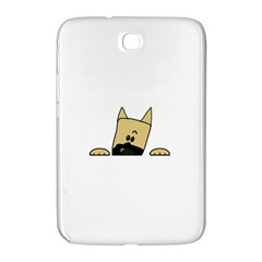 Peeping Fawn Great Dane With Docked Ears Samsung Galaxy Note 8.0 N5100 Hardshell Case
