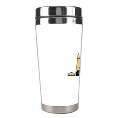 Peeping Fawn Great Dane With Docked Ears Stainless Steel Travel Tumblers