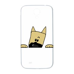 Peeping Fawn Great Dane With Docked Ears Samsung Galaxy S4 I9500/I9505  Hardshell Back Case