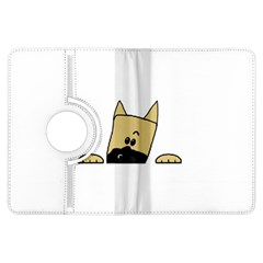 Peeping Fawn Great Dane With Docked Ears Kindle Fire HDX Flip 360 Case