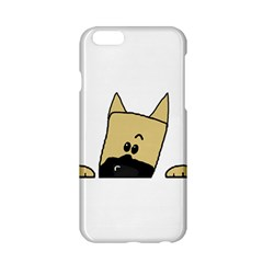 Peeping Fawn Great Dane With Docked Ears Apple iPhone 6/6S Hardshell Case