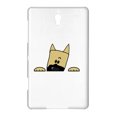 Peeping Fawn Great Dane With Docked Ears Samsung Galaxy Tab S (8.4 ) Hardshell Case
