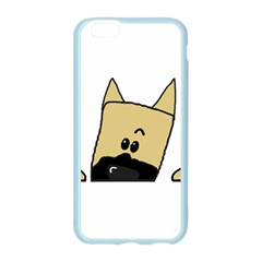 Peeping Fawn Great Dane With Docked Ears Apple Seamless iPhone 6 Case (Color)